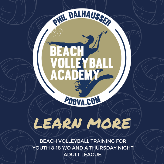 Volleyball Learn More Pop-Up